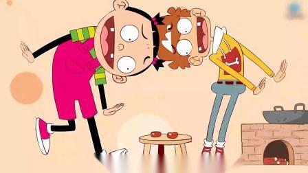 阿衰和大脸妹一天只能吃两个小枣,两人快饿虚脱了