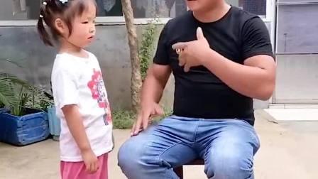 孩童趣事:爸爸把我扔垃圾筒了
