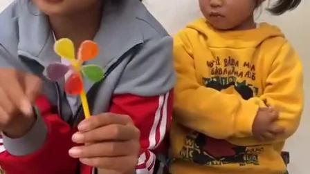 童年趣事:风车糖怎么没有啦