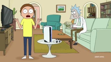 【游民星空】《瑞克与莫蒂》联动PS5广告
