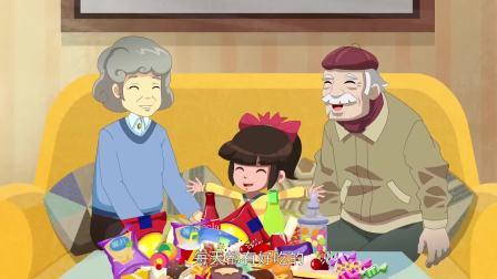 外星人阿果:小女孩吃了甜食,牙齿变黑了,这该咋整啊