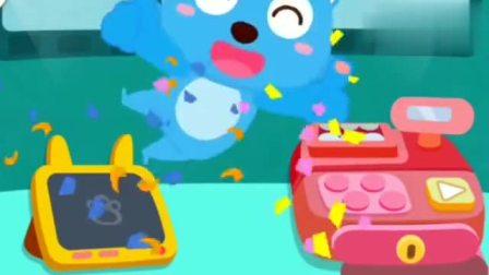 宝宝巴士启蒙教育:帮蓝猫找到他想看的电影和想吃的食物吧!