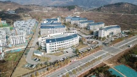 泰安是中心医院分院航拍