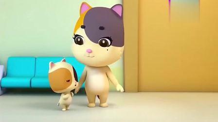 宝宝巴士奇妙救援队-咪咪要去进行健康检查,但是它很害怕!