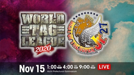 NJPW 2020.11.15 The World Tag League and Best of the Super Jr. 27 开幕日 英语解说