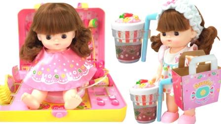 面包超人糖果爆米花商店玩具