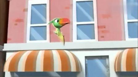 儿童早教动画,汪汪队和恐龙一起玩!