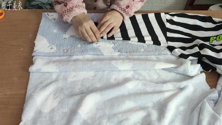 家居睡袍不用买了,自己做得更好,方法简单易学,成品穿上比买的还好