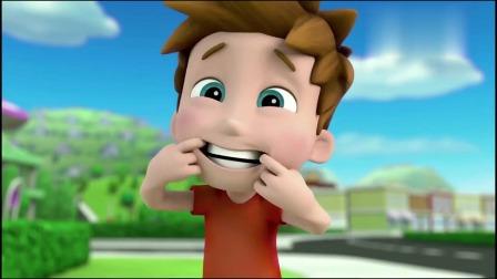 汪汪队:雅丽该去看牙医了,但他害怕,躲在树屋里不出来