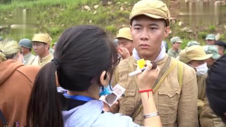 电视剧跨过鸭绿江战争场面拍摄现场。