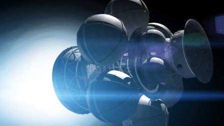 科学家设计星际空间方舟,外形类似超大棒棒糖!