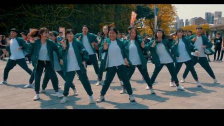 大学生校园街舞演出《怪物奇兵》