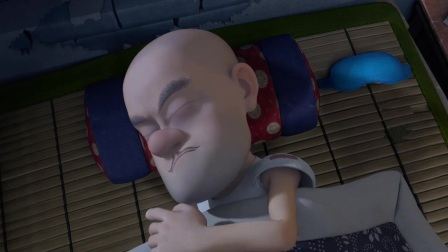 熊出没:光头强日夜颠倒,玩游戏到深夜,早上就是睡不醒