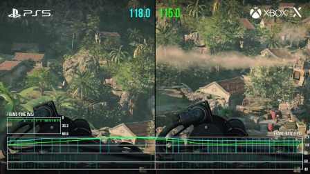 DF《COD17》PS5 vs XSX