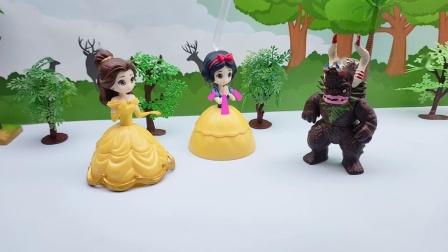 王子被巫婆施了魔法变成怪兽,怎么办呀?