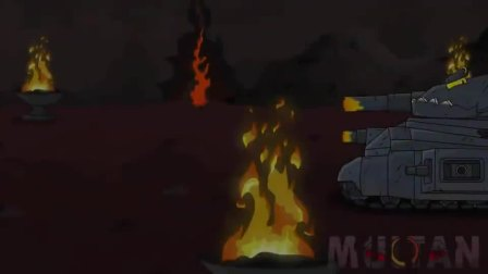 坦克世界动画:KV-44M救援迷你坦克