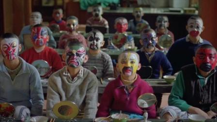 七小福:孩子们的脸谱画的像模像样