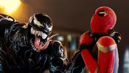"""毒液霸占蜘蛛侠身体,强行来了波""""合体"""",有时太帅也是一种烦恼!"""