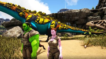方舟生存进化:仙境大乱斗毛哥的角色太绿了