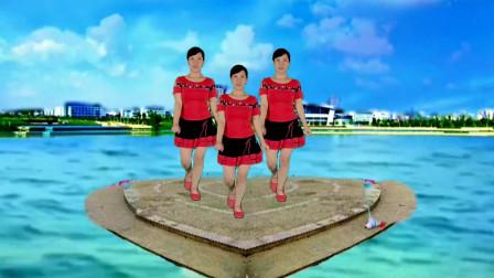 简单时尚活力16步恰恰广场舞【情人桥】