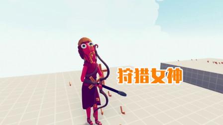 全面战争模拟器游戏 阿波罗和狩猎女神一起守塔