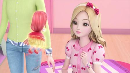 珠珠的秘密:珠珠会努力的,她一定会找到女神,斯皮卡就放心吧