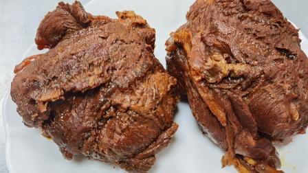 """酒店大厨分享:""""酱牛肉""""的家常做法,真实的教学比例全过程"""