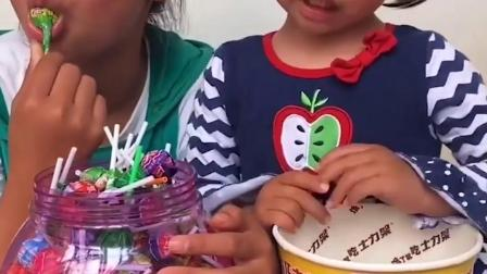 美丽的童年:姐姐不让我吃,我也不让你吃