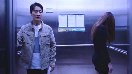 电梯遇到漂亮女人不要搭讪,脸转过来可能是花卷,《韩国怪谈》