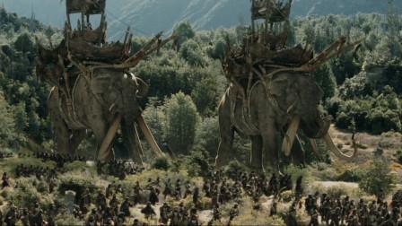 奇幻片:半兽人进攻人类城堡,巫师带兵前来支援!