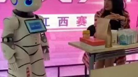 我们常常可以看到主播直播带货,大家见过机器人带货吗?