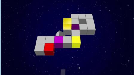 烧脑益智游戏,滑动的立方体