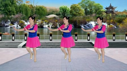 32步动感活力秧歌广场舞【DJ过河】