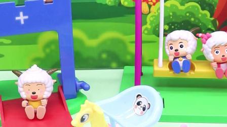 亲子有趣幼教视频:倒霉的乔治在游乐场等了一天,什么也没玩