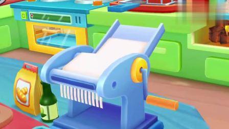 宝宝巴士少儿动画:来奇妙美食餐厅学习原汁原味的正宗牛肉面做法