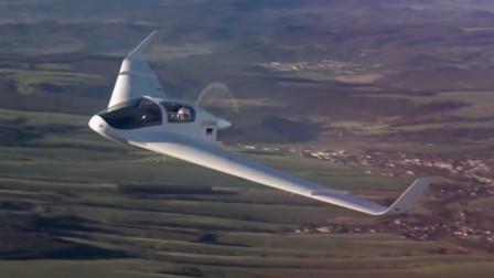 德国造巨翼无尾飞机,造型科幻像B2隐形轰炸机,能飞3500公里
