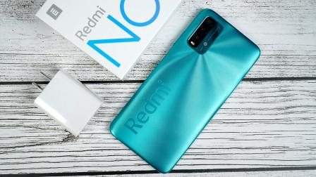 Redmi Note 9 4G版开箱:一款能徒手开后盖的手机