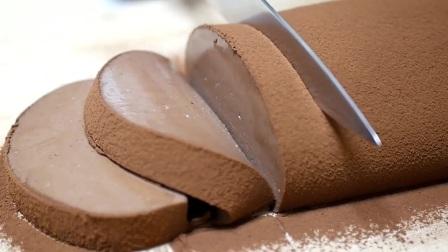 制作巧克力慕斯蛋糕天使般的口感