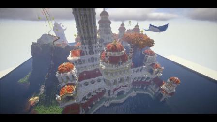 我的世界:分不清现实与游戏!中国玩家造出海上歌剧院!