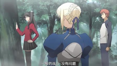 Fate-Stay-Night:远坂告诉卫宫和saber想要胜利很简单,他们必须奇袭