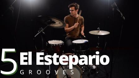 ★ME威律动★Brett Clur - 5 Drum Beats from El Estepario Siberiano