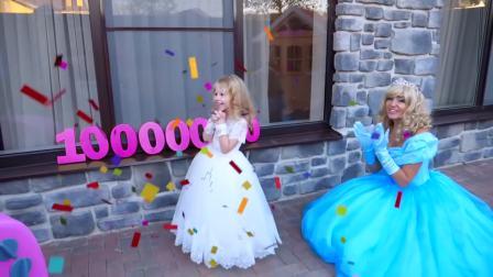 美国儿童时尚,小公主的生日宴会,真好玩啊