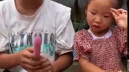快乐的童年:用什么工具可以把冰棍打开啊?