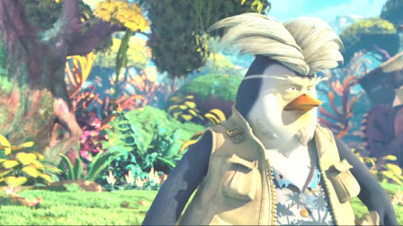 坏企鹅到底想干什么!啦啦给熊大叔和兰留下标记,居然被他给毁了