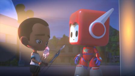 机器人布鲁可教你如何玩皮影戏 小朋友在家也能玩