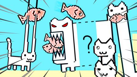 残疾猫 我变成猫火箭,把我的头送到宇宙变成人造卫星 阿波兔解说