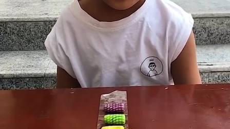 趣味童年:小宝贝有好多泡泡糖吃呀