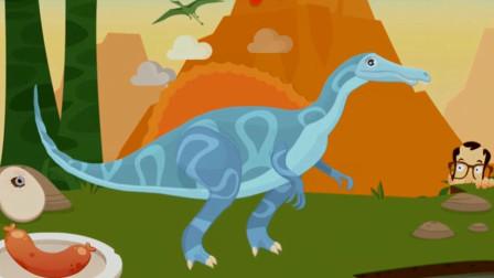 棘龙的骨骼化石在沙漠被挖掘了吗?  考古学家沙漠大发现 恐龙再现与认知 陌上千雨解说