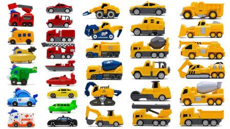 汽车玩具故事:超炫酷!磁力的工程车是如何拼装而成的呢?