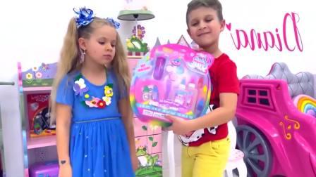 美国儿童时尚,小正太变身人妖,真有趣啊